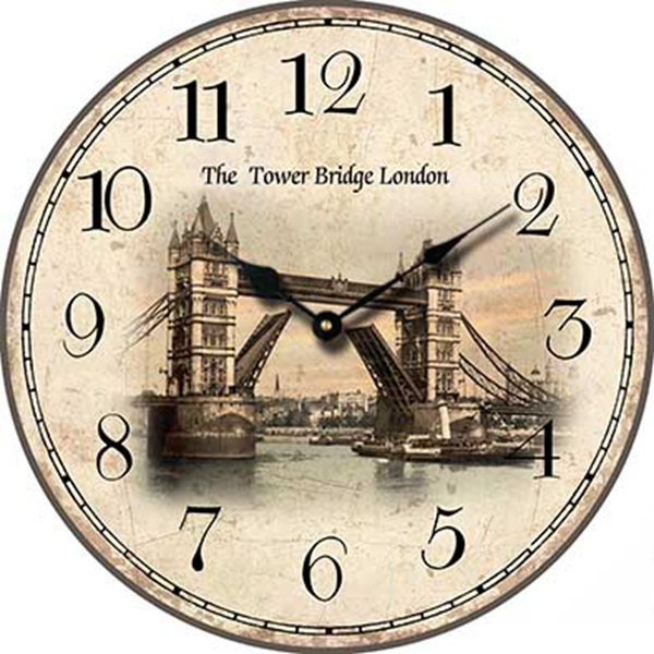 Popular country clock buy cheap country clock lots from - Country style wall clocks ...