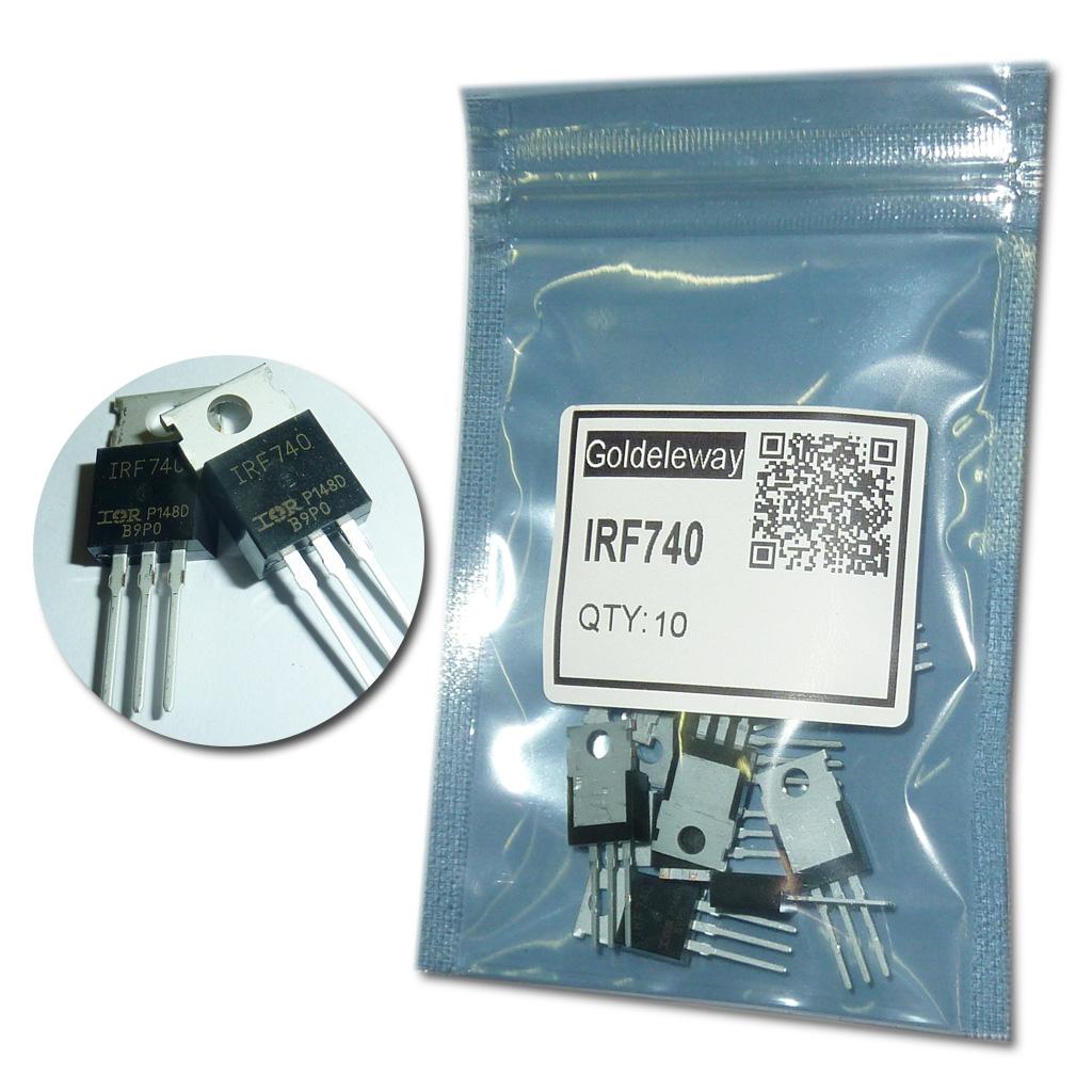 схема зарядного на irf740