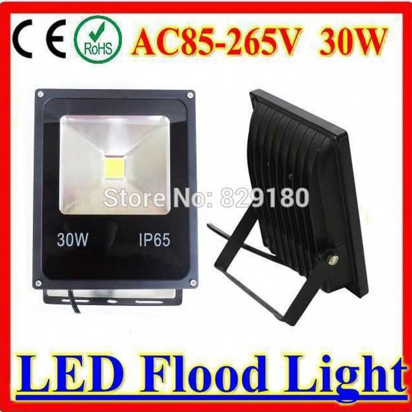 CE certificated Ultra Bright 30W LED Flood Light Solar AC/DC12V-24V Security Light Flood Lamp Outdoor Garden Spotlights(China (Mainland))