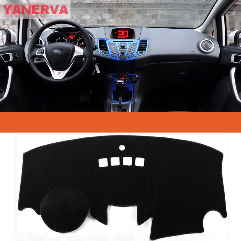 interior car dashboard cover light avoid pad photophobism mat sticker for ford fiesta in floor. Black Bedroom Furniture Sets. Home Design Ideas