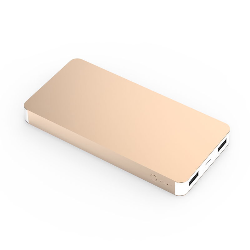 10000mAh Metal Case Power Bank Portable Charger Battery For iPhone 6S 6 iPad Samsung LG HTC Android Phone External Battery Pack(China (Mainland))