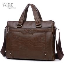 Men Bags Men Business Leather Briefcase Bags Vintage Shoulder Computer Bag Luxury Leather Handbags Messenger Bag 2016 OB-026(China (Mainland))