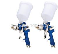 Mini HVLP Air Spray Gun 1.4mm Furniture/Wood Automotive Primer Paint Sprayer Spray Gun
