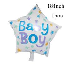 1 Pcs 84*32 Cm Baby Shower Pink Foil Balon Yang Anak Gadis Bayi Shower Jenis Kelamin Mengungkapkan Bahagia ulang Tahun Pesta Dekorasi Persediaan(China)