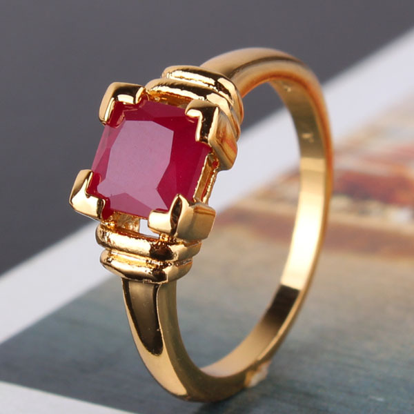 New 2014 24k Rose Gold Plated Oval Rose Crystal Zircon