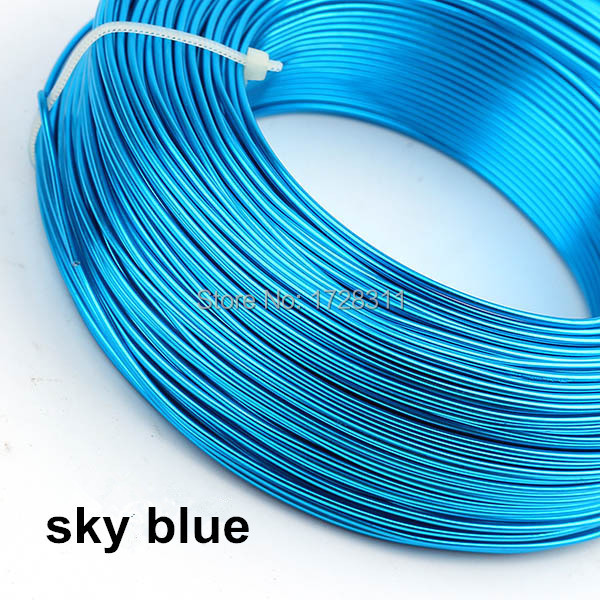 1.5mm 500g105m/roll Colored Round Aluminum Wires Artistic Bonsai ...
