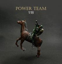1 ШТ. НАБОР Солдат Готовых Деталей Продукта Power Team Компонентов Assault Squad 1:18 Комплекты ПВХ 15 СМ Модель Игрушки Головоломки кавалерия