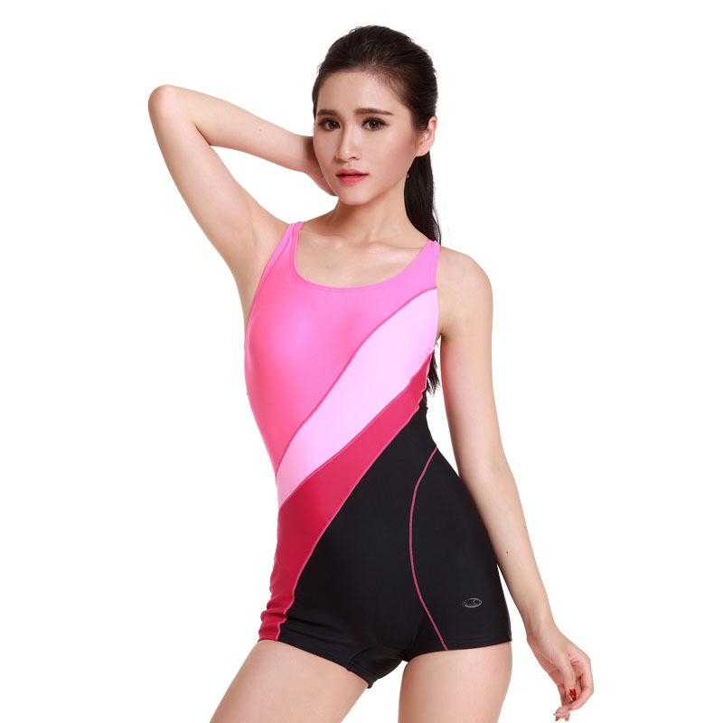 Yingfa 2015 new professional sport suit women padded suit swimwear one piece chlorine resistant yingfa swimwear plus size(China (Mainland))