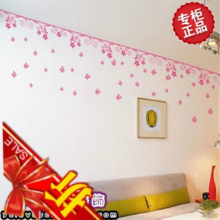 Wall stickers home accessories decoration ceiling tv applique wallpaper bedroom wall stickers(China (Mainland))