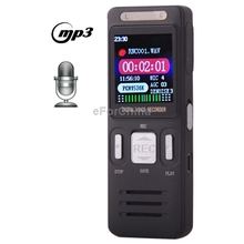 VM203 Professional 8GB LCD Digital Voice Recorder High Quality Dictaphone with VOR MP3 Player (China (Mainland))
