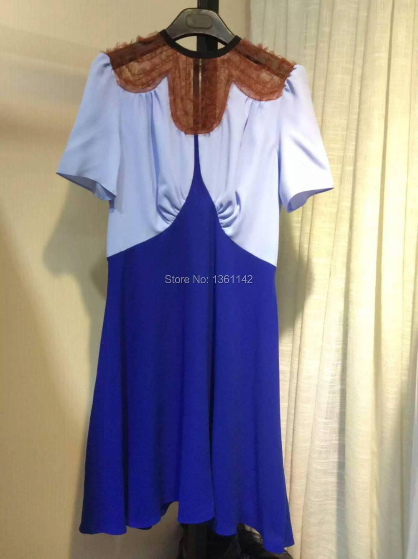 High Quality 100% Silk Dress 2016 Luxury Brand Dresses Women Free ShippingОдежда и ак�е��уары<br><br><br>Aliexpress