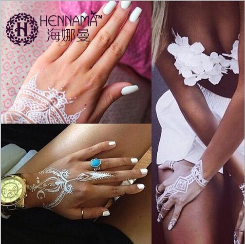 White Mehndi Buy : Aliexpress buy india henna tattoos paste for women