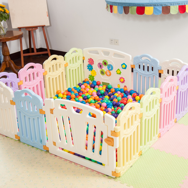 Children's games fence security fence children's fence baby crawl the ocean ball pool genuine baby playpen(China (Mainland))