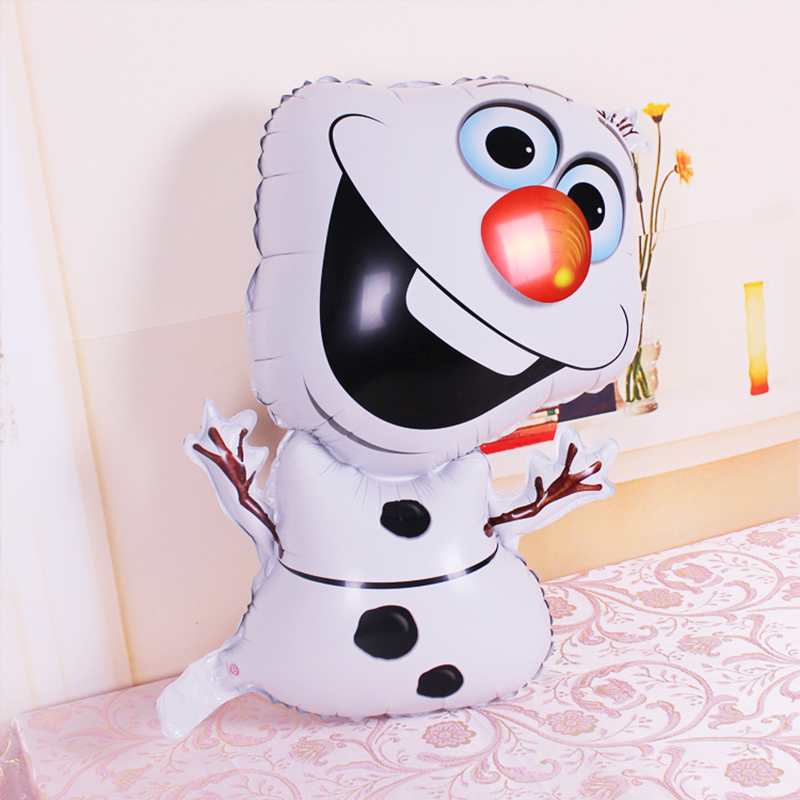 Lucky 1pcs 78*46cm Olaf Balloon Foil Helium Balloons Snowman Elsa Balloons Classic Toys Party Wedding Decoration Globos BX0001(China (Mainland))