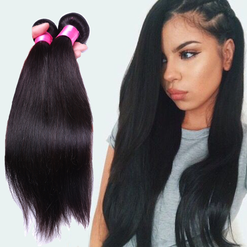 7a Brazilian Virgin Hair Straight Remy Human Hair Extensions 3pcs Brazilian Straight Hair Stema Hair Vendors Bella Dream Weaves