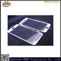 10pcs/lot by 3 in 1 Original Touch Screen Lens Outer LCD Glass with frame with OCA assembly For iPhone 6 4.7 Repair Part