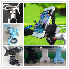 2015 HOT sale Handlebar Clip Stand For iPhone Samsung GPS Bicycle Mobile Cellphone Mount Holder for a gift high quality s654