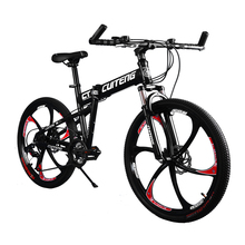 "24 Speeds CT Black Bike Bicicleta 26"" Mountain Bike Folding Bicycle Bycycle Bicycle Bicicletas Mans Mountain Bike Disc Break(China (Mainland))"