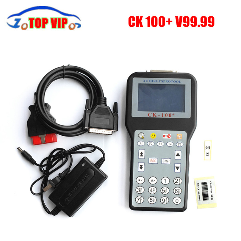 DHL fast Newest V99.99 CK-100 CK100 Auto Key Programmer with Tokens CK100 Key Programmer CK 100 Programmer SBB Update Version(China (Mainland))