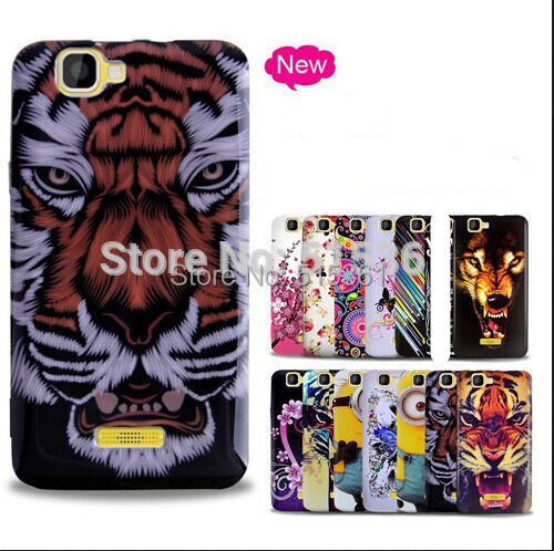 Hot New TPU Grossy printed Soft Gel case For Explay Fresh with Free shipping(China (Mainland))