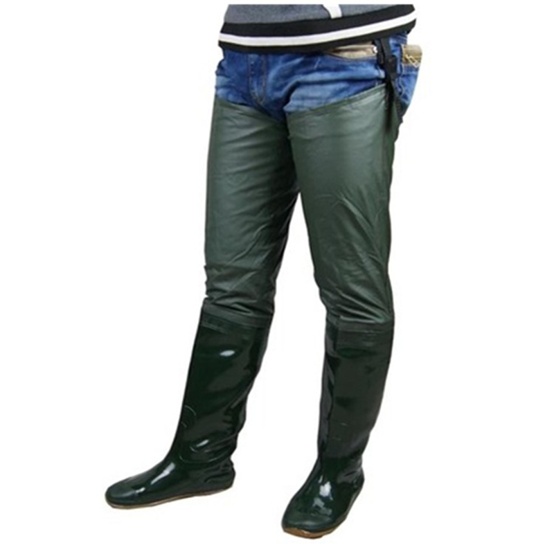 Popular mens rubber fishing boots buy cheap mens rubber for Rubber fishing boots