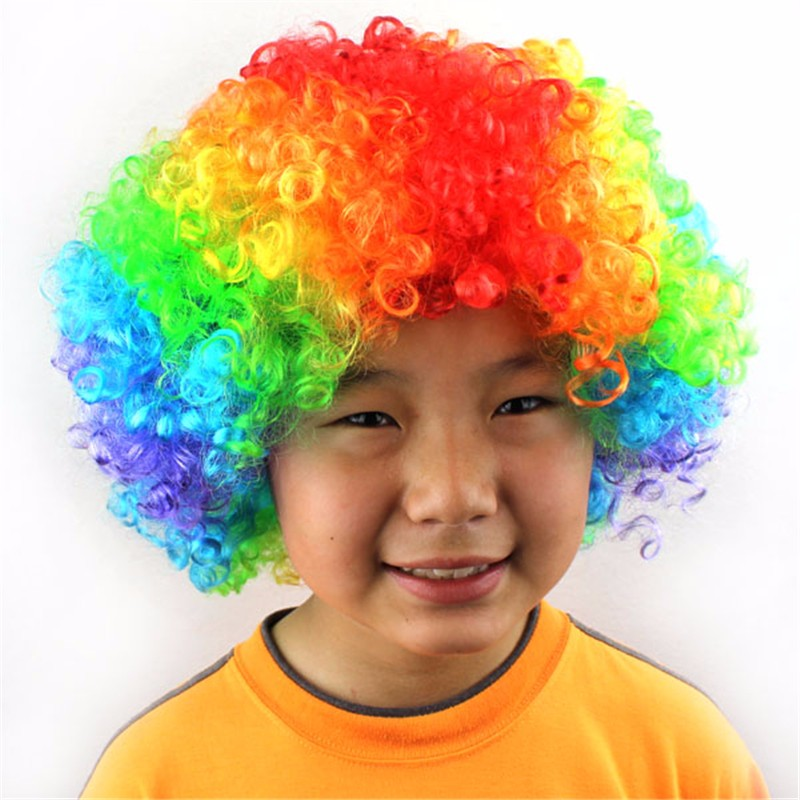 Afro Clown Wig  (2)