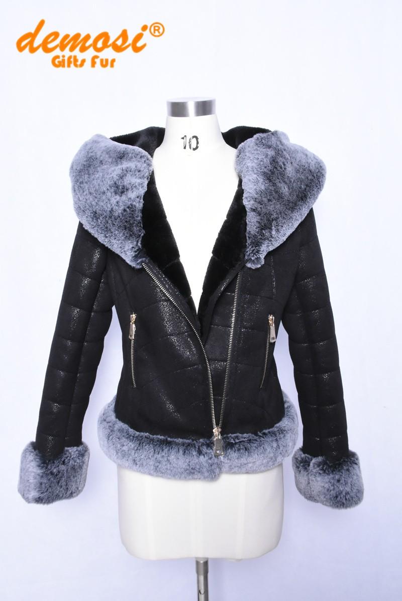 Большая Женская Одежда Дубленка Купить