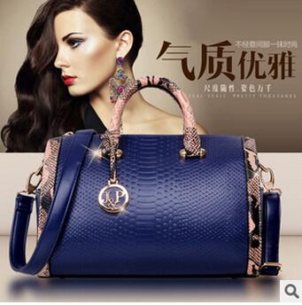 2015 new fashion women bag brand handbags vintage Handbags new messenger bag tote Patent Leather cross body bags(China (Mainland))