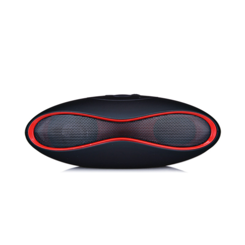 HIFI X-6 MINI Sound Rugby Football Wireless Bluetooth Speaker AUX USB Portable Audio Player Music for phone Computer Subwoofer(China (Mainland))