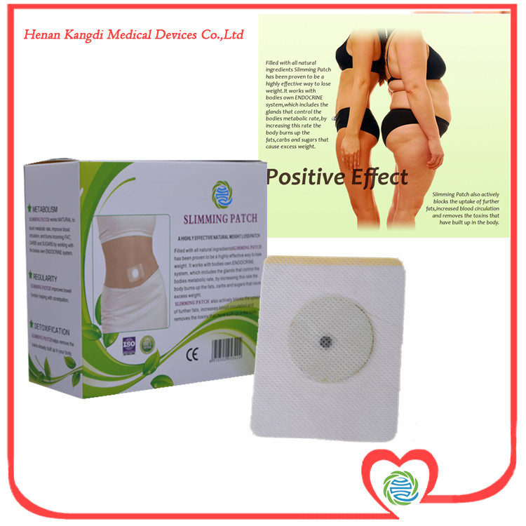 30Pcs/Lot Free Shipping Effective Best Fat Burner Burning Fat Slimming Navel Patch 7x9CM Natural Product For Weight Loss(China (Mainland))