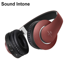 Buy Sound Intone P1 Wireless Bluetooth Headphones Microphone Support TF Card FM Radio Headsets iphone xiaomi Samsung for $25.69 in AliExpress store
