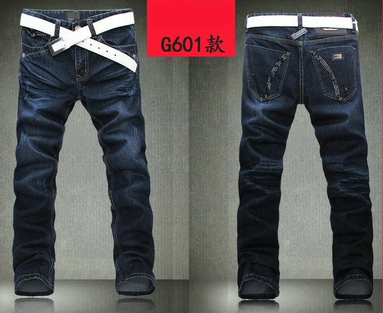 2014 New Mens Exquisite designer jeans Casual Pants brand jeans Denim #601 size 30-40Одежда и ак�е��уары<br><br><br>Aliexpress