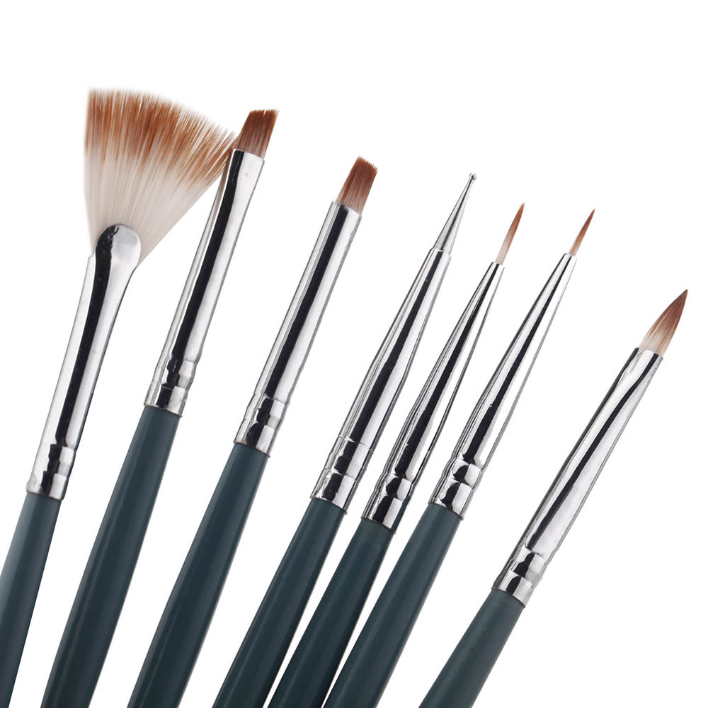 NEW! 7pcs/Set DIY Professional Nail Art Design painting Tool Pen Polish Brush Set Gel UV Print Kit - Unique Fashion Shop store
