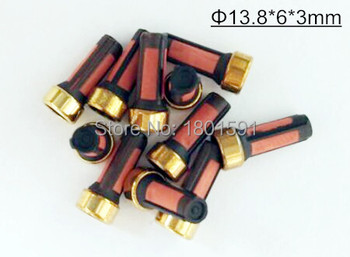 20units wholesale top quality size 13.8*6*3mm basket microfilter for fuel inejctor auto spares parts (AY-F104B)