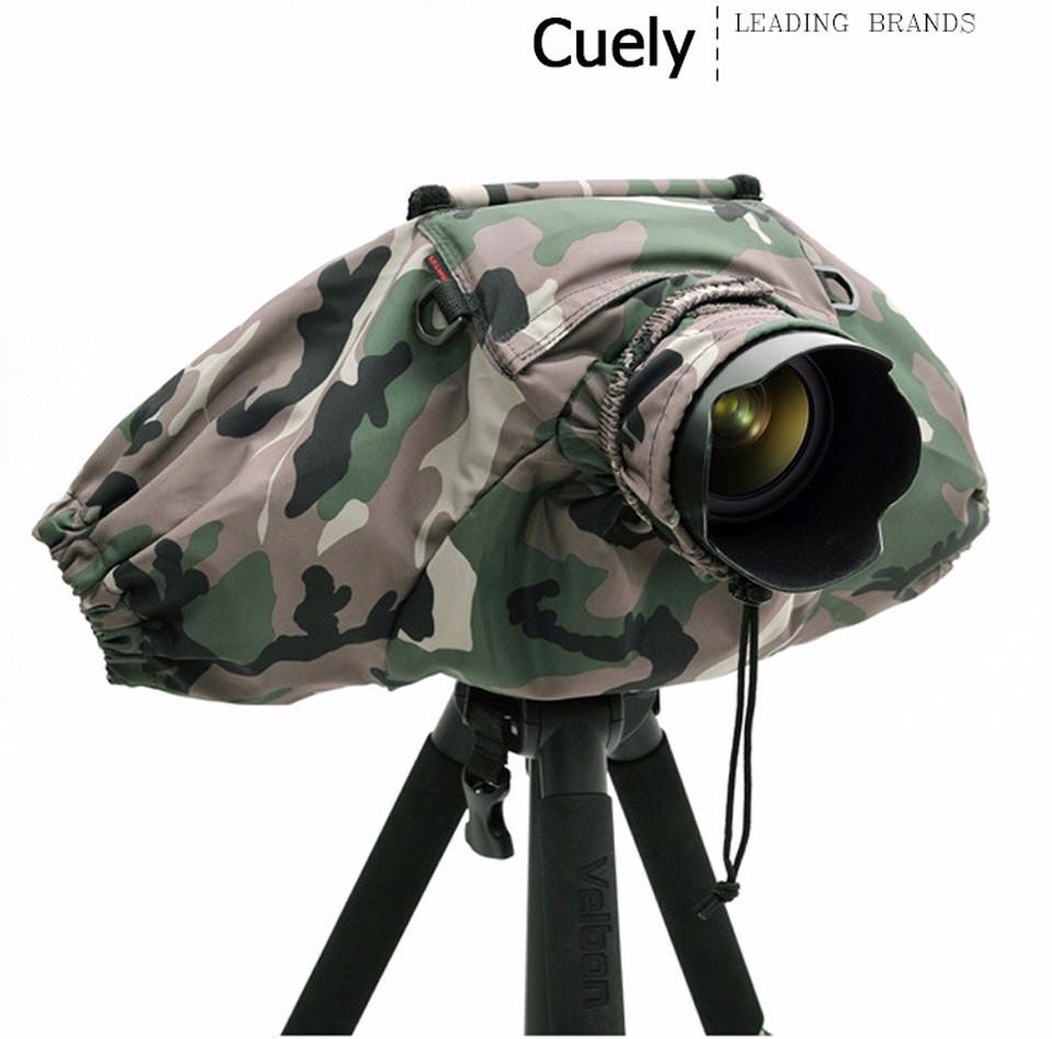Professional Camera Rain Cover Coat Bag Protector Rainproof Waterproof Against Dust for Canon Nikon Pendax Sony DSLR SLR