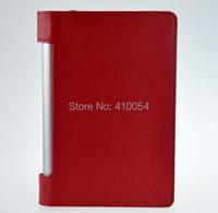 For Lenovo Yoga Tablet 2 1050F case Smart PU leather cover For lenovo yoga tablet 2 10.1 inch 1050 +screen film +stylus