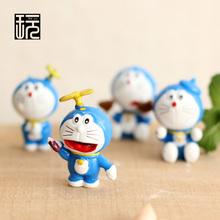 Cartoon Anime Doraemon Mini Fairy Garden Miniatures DIY Doll House/ Terrarium/ Home/ Micro Landscape Decoration Succulents Decor