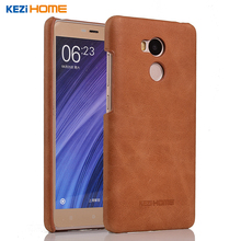 Buy Case Redmi 4 Pro, KEZiHOME Frosted Genuine Leather Hard Back Cover Xiaomi redmi 4 pro Prime 5.0'' Phone Protector case for $9.90 in AliExpress store