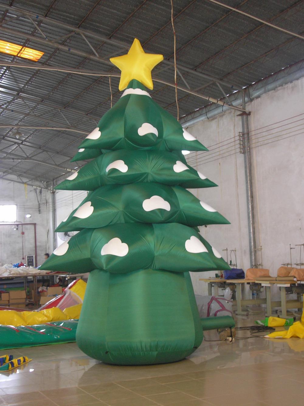 5 m h exterior de regalo decorado rbol de navidad - Comprar arboles de navidad decorados ...
