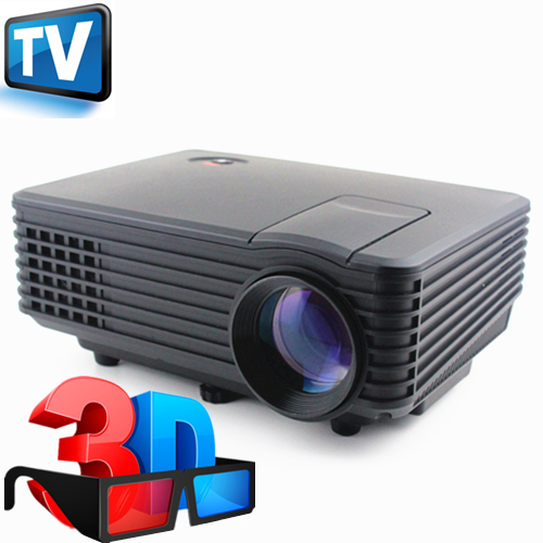 800 Lumens Home Theater Mini Portable Led Multimedia: 2015 New Full HD 800lumens Mini LED 3D Portable Pico