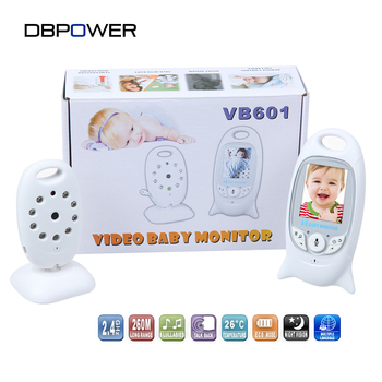 "DBPOWER 2.0"" Color LCD Video Wireless Baby Monitor 2 Way Talk Night Vision IR Nanny Babyfoon Baby Camera with Music Temperature"