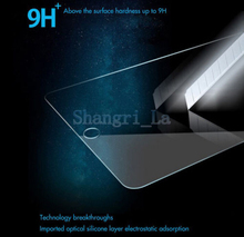 New Arrival New Premium Real Tempered Glass Film Screen Protector for iPad mini Free Shipping 10pcs/lot with package(China (Mainland))