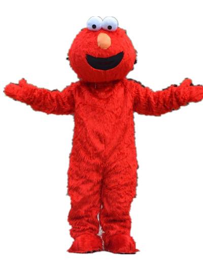 red elmo mascot costume halloween - Halloween Costumes Elmo