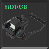 Hunting Optics 1x22x33 Compact Reflex Red Green Dot Sight Riflescope 4 Reticle Sight for Airsoft Weaver 20mm Mount gun promotion