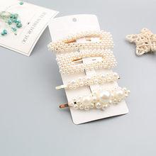 Umode Mutiara Rambut Klip Pin Rambut Cina Buatan Tangan Jepit Rambut Kepala Pernikahan Wanita Perhiasan Vintage Fashion Trendi Aksesoris 2019(China)