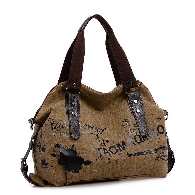 product 2014 New Arrival Canvas Designer Handbag Woman Causal Shoulder bag Sacthel Medium Bolsos Marca Women Handbags Letter Free ship