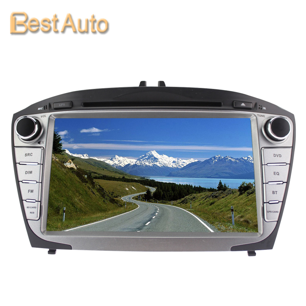 Updated WIN CE 800MHz CPU 256M DDR 8'' Car DVD GPS Navigation for Hyundai IX35 2014 No Canbus Support Multi-language Menu(China (Mainland))