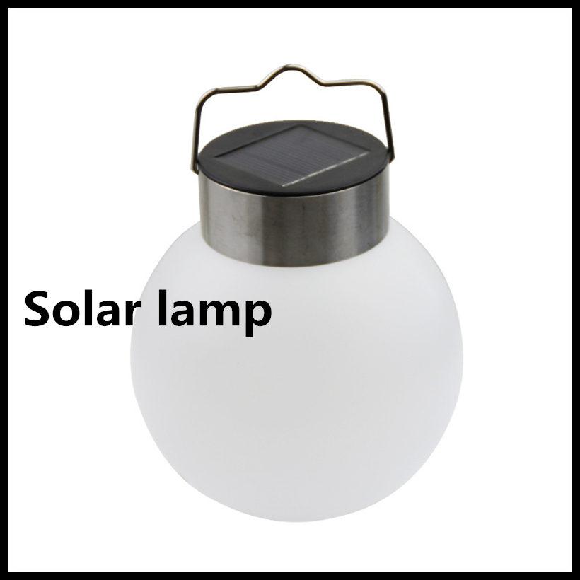 NEW Automatic light sensor Waterproof solar lamps Pendant Lights Outdoor Courtyard lights solar Ball lamp Garden camping lights(China (Mainland))