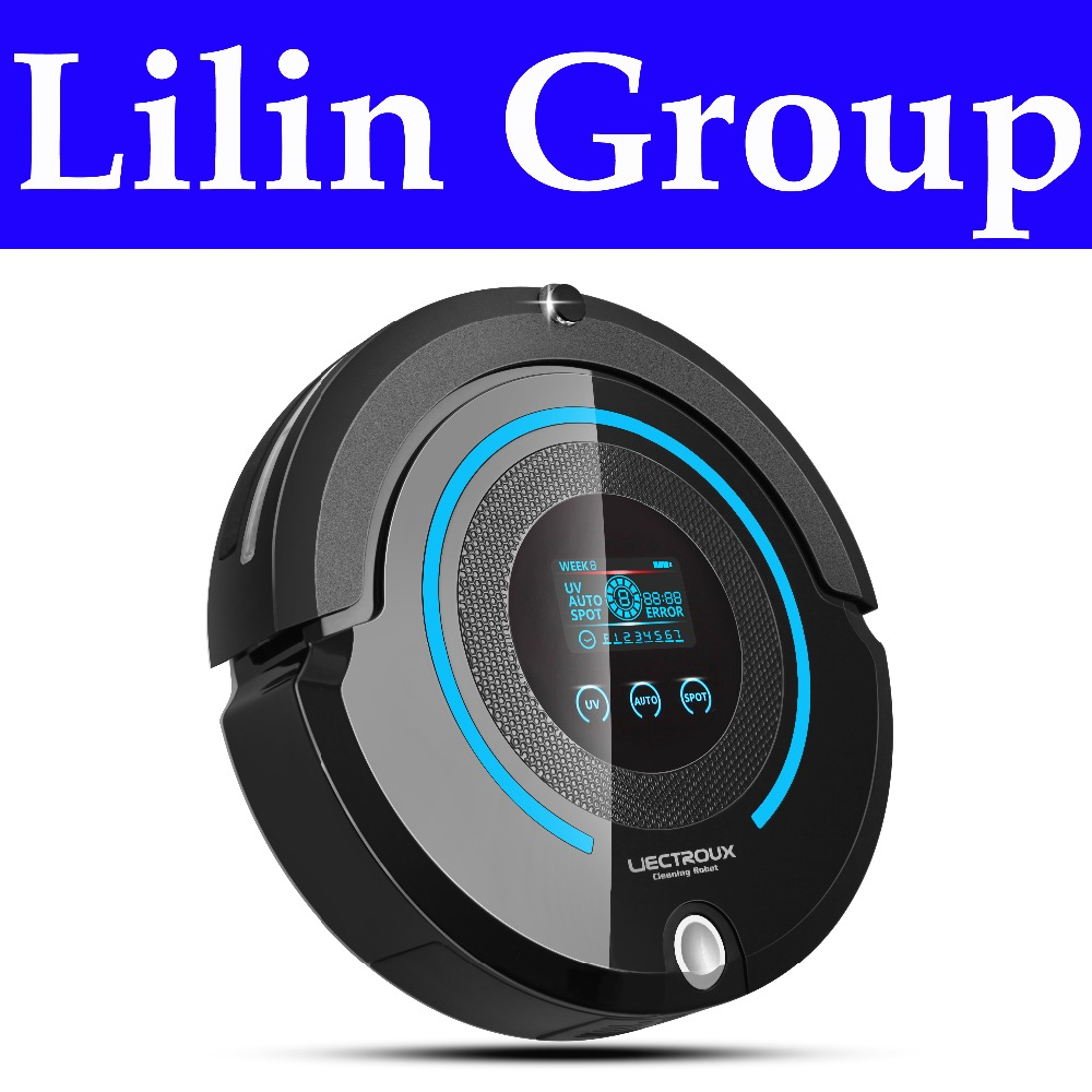 (Russia Warehouse) High-end Multifunction Robot Vacuum Cleaner (Sweep,Vacuum,Mop,Sterilize),Schedule,2Way VirtualWall,SelfCharge(China (Mainland))
