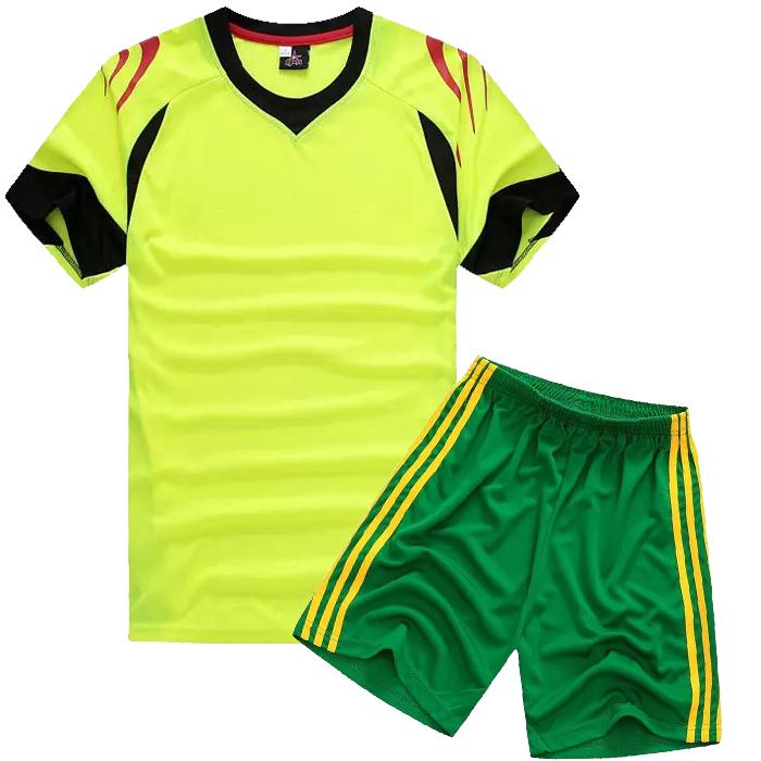 custom made kids short sleeve blank soccer jersey children football team jersey.(China (Mainland))